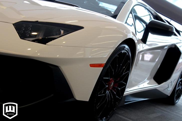 Lamborghini detailing ottawa